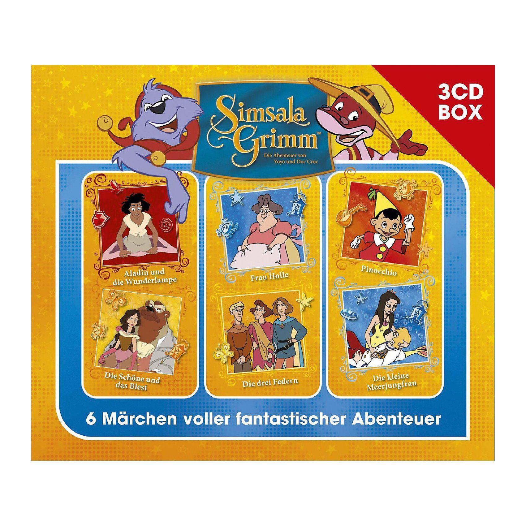 Universal CD SimsalaGrimm - 3CD Hörspielbox Vol.4