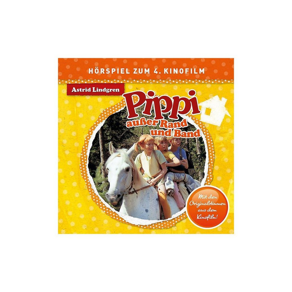Universal CD Pippi Langstrumpf - Pippi außer Rand und Band (Hörspiel z online kaufen