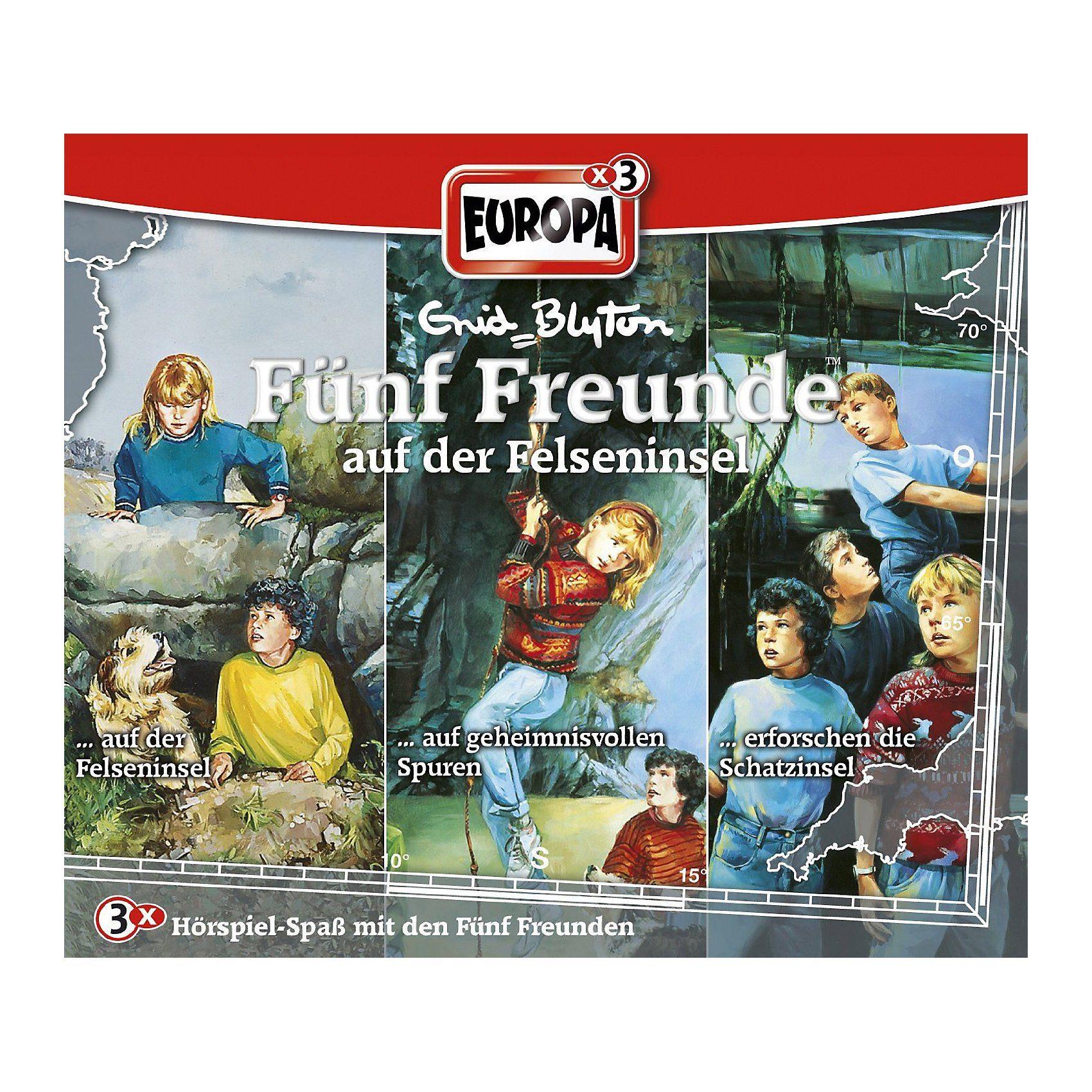 Sony CD Fünf Freunde 23 - Auf der Felseninsel (3er Box)