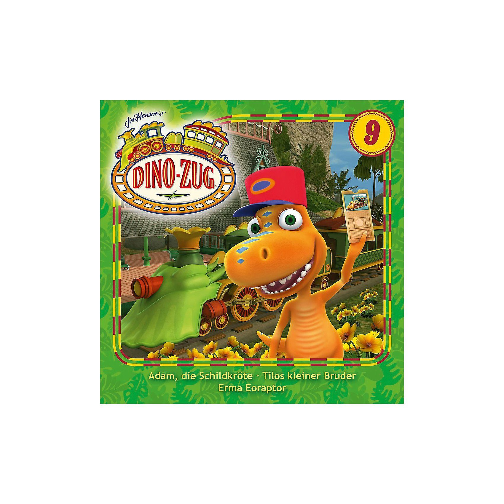 Universal CD Der Dino Zug 09-Adam die Schildkröte/Tilos kleiner