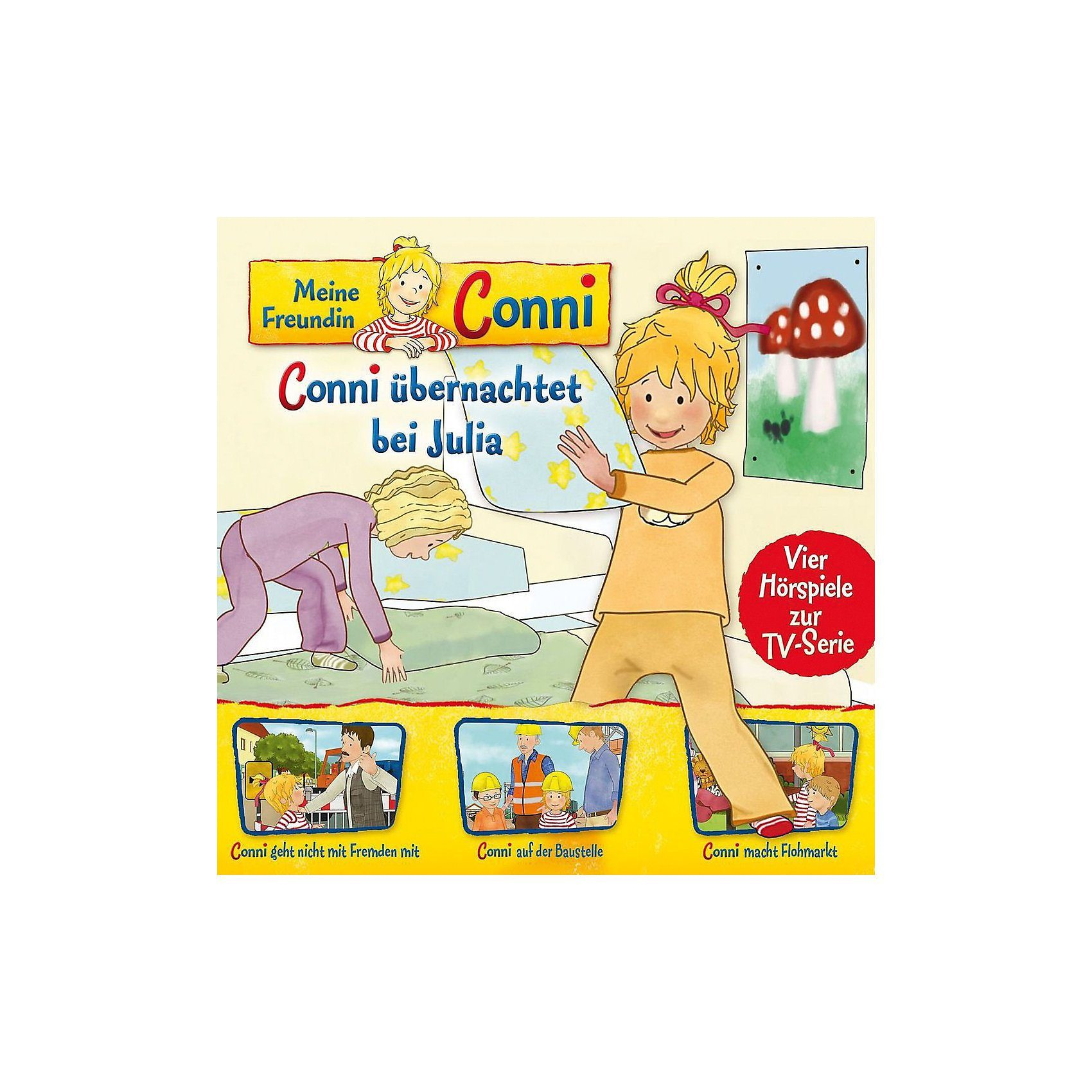 Universal CD Meine Freundin Conni 08-Conni übernachtet/Fremden