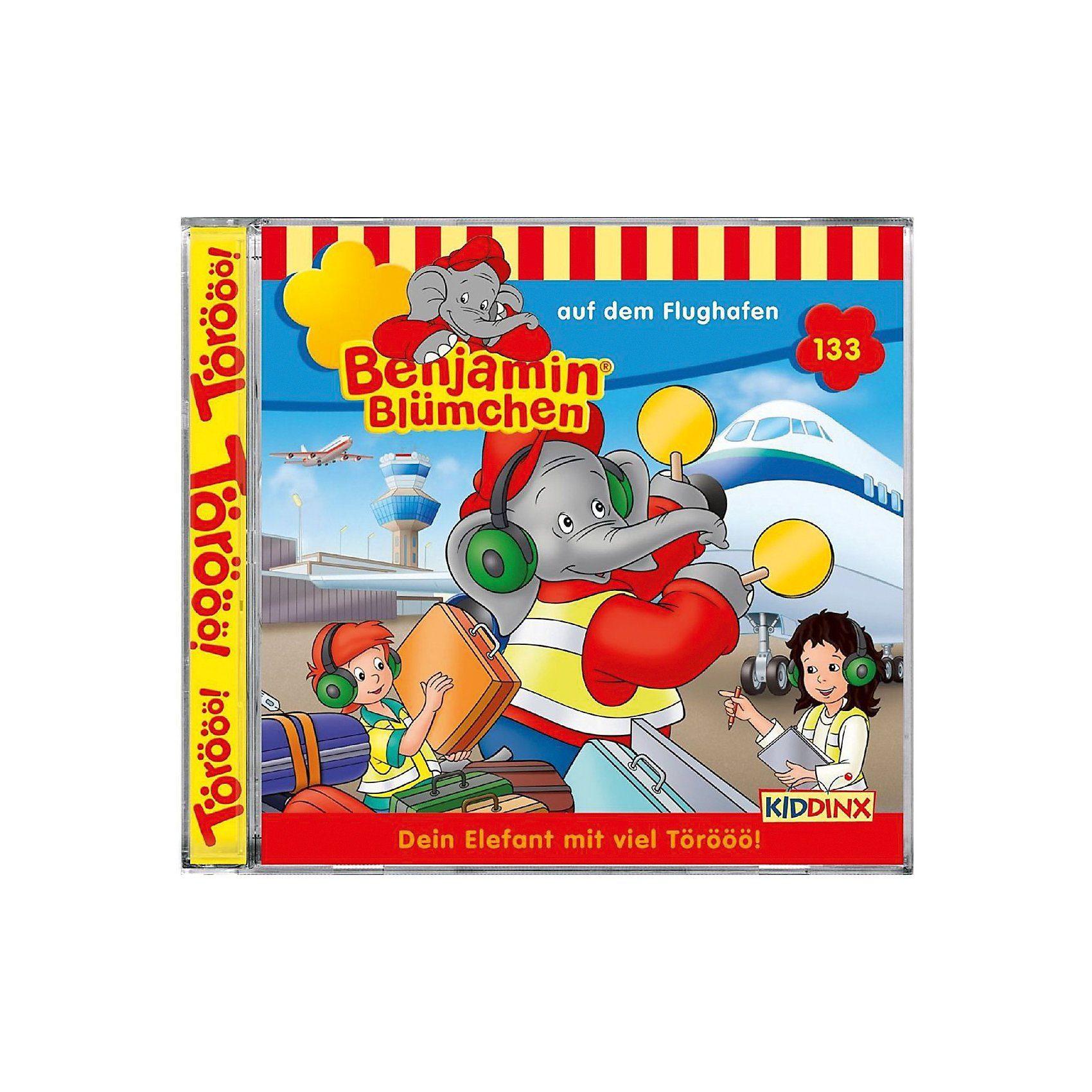 Kiddinx CD Benjamin Blümchen - Auf dem Flughafen (133)