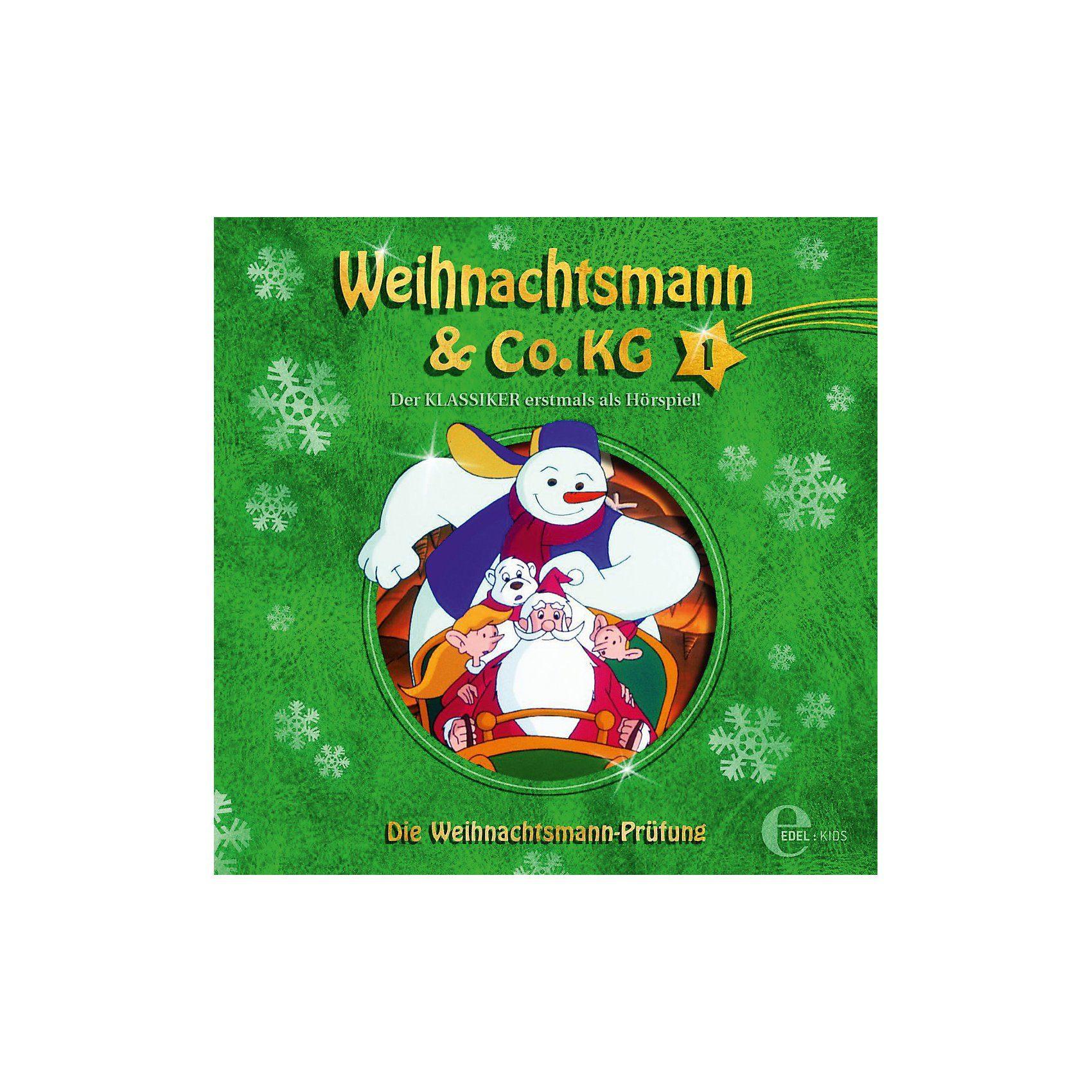 Edel CD Weihnachtsmann & Co.KG 1 - Die Weihnachtsmann-Prüfung