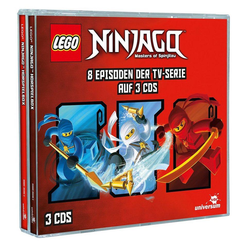 Lego® CD Ninjago - Hörspielbox 1 online kaufen
