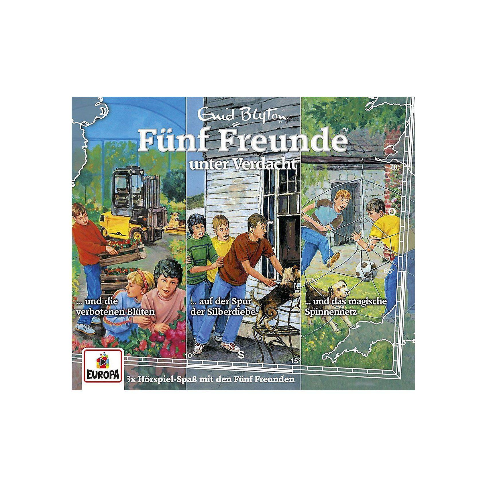 Sony CD Fünf Freunde 28 - 3er CD-Box- Fünf Freunde unter Verdacht