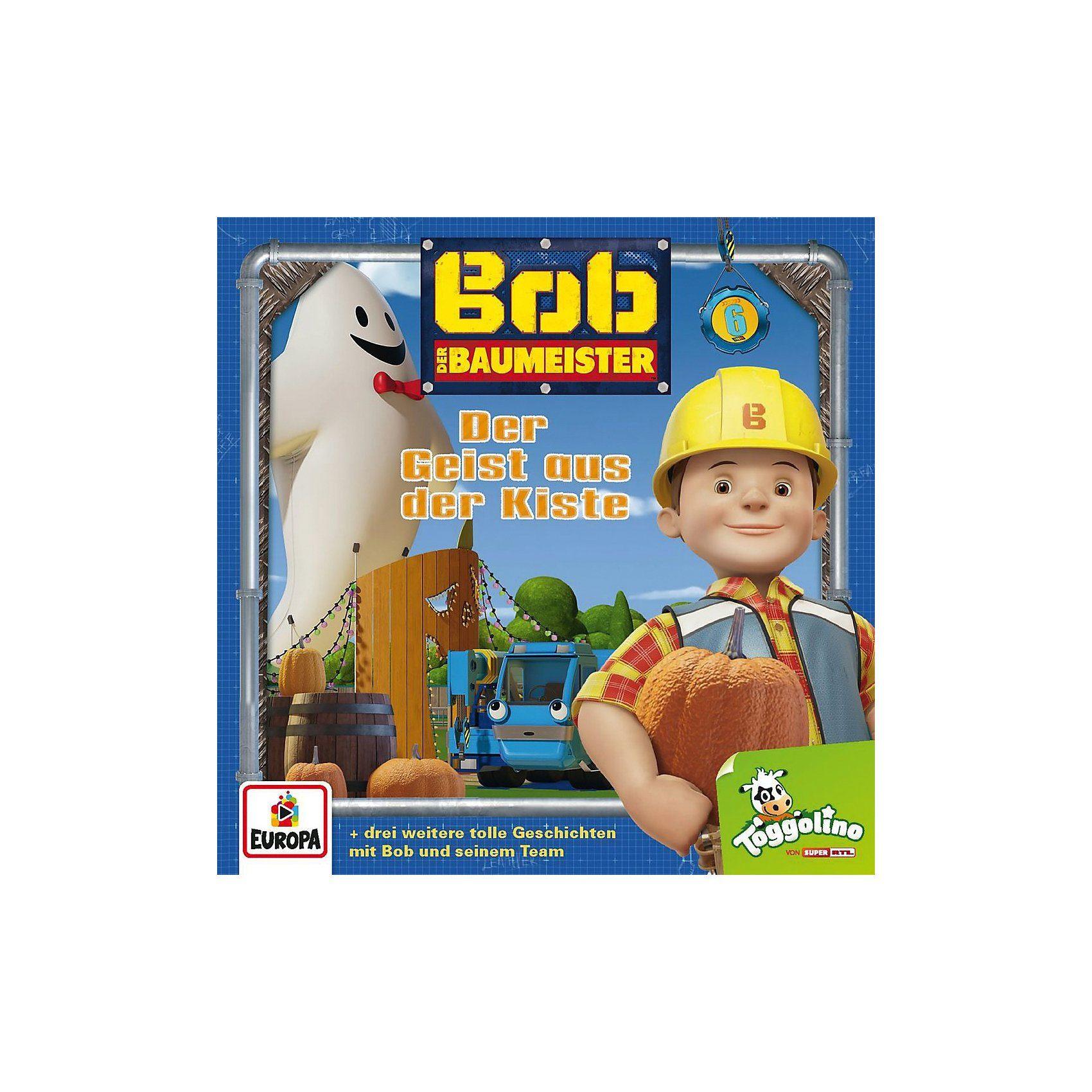 Sony CD Bob der Baumeister 6 - Der Geist aus der Kiste