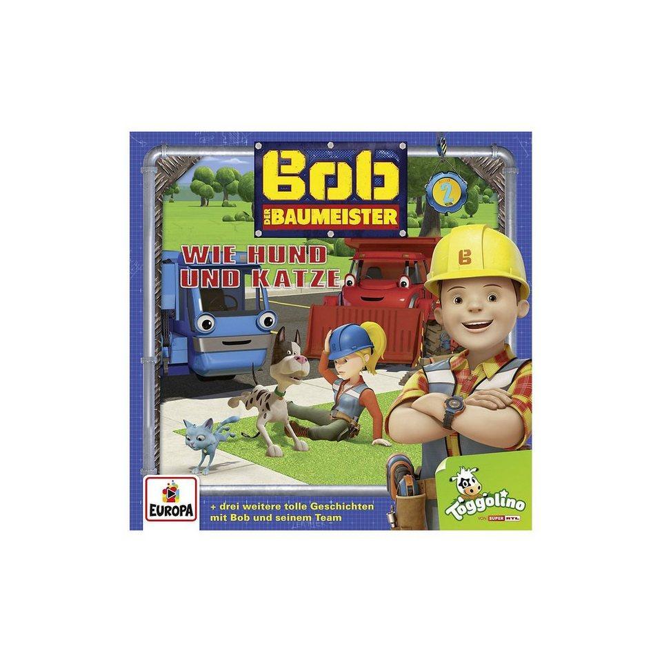 Sony CD Bob der Baumeister 2 - Wie Hund und Katze