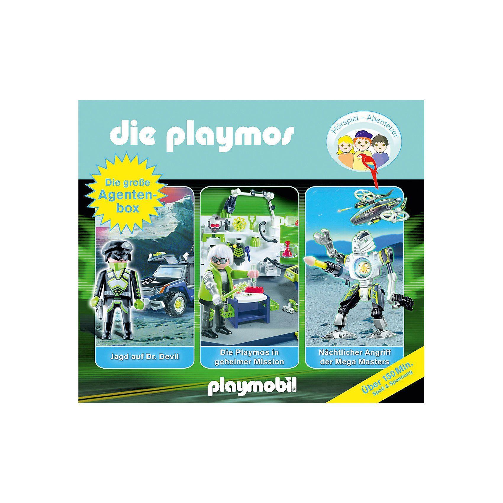 Edel CD Die Playmos - Die Große Agenten-Box