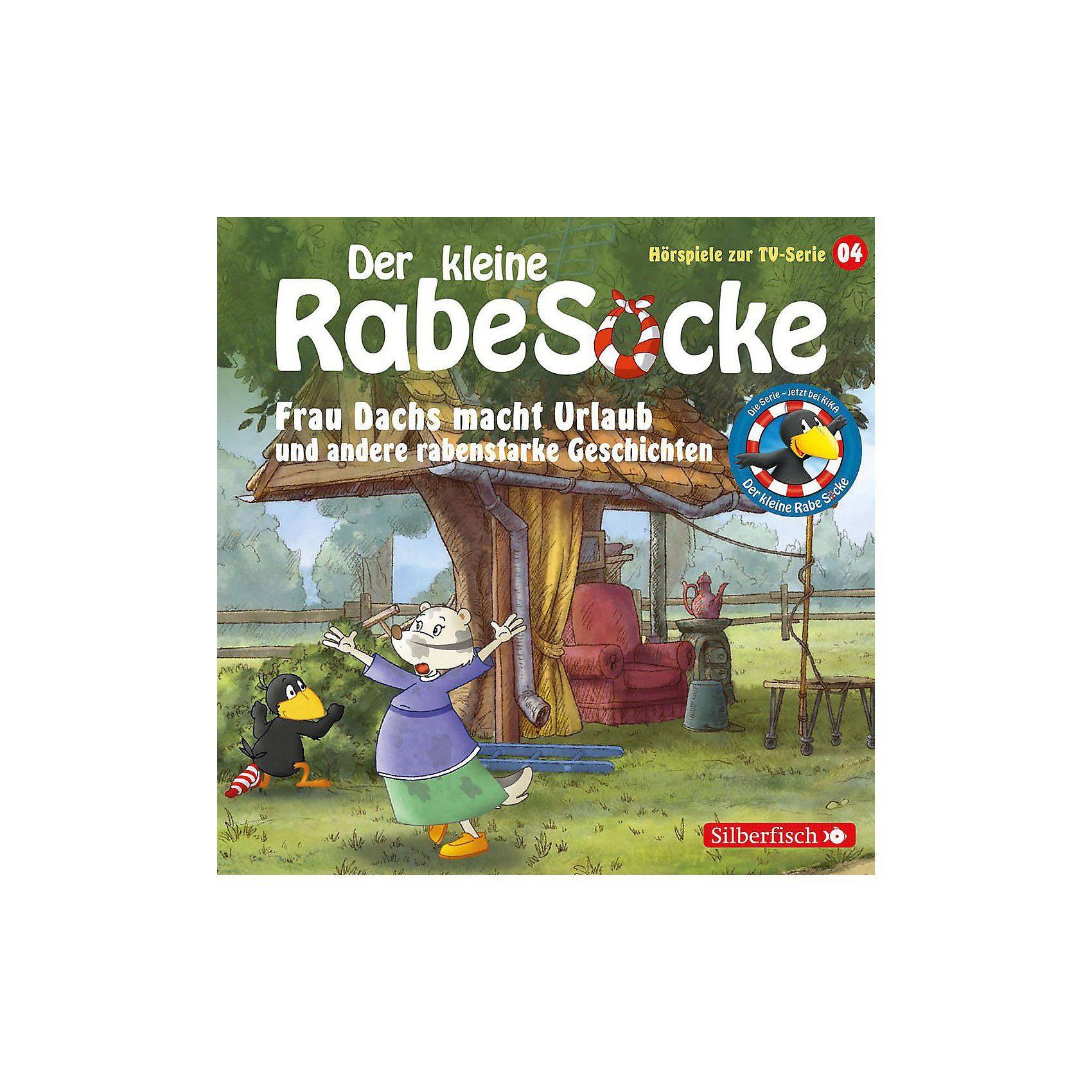 Universal CD Der kleine Rabe Socke 04: Frau Dachs macht Urlaub (Hörspi