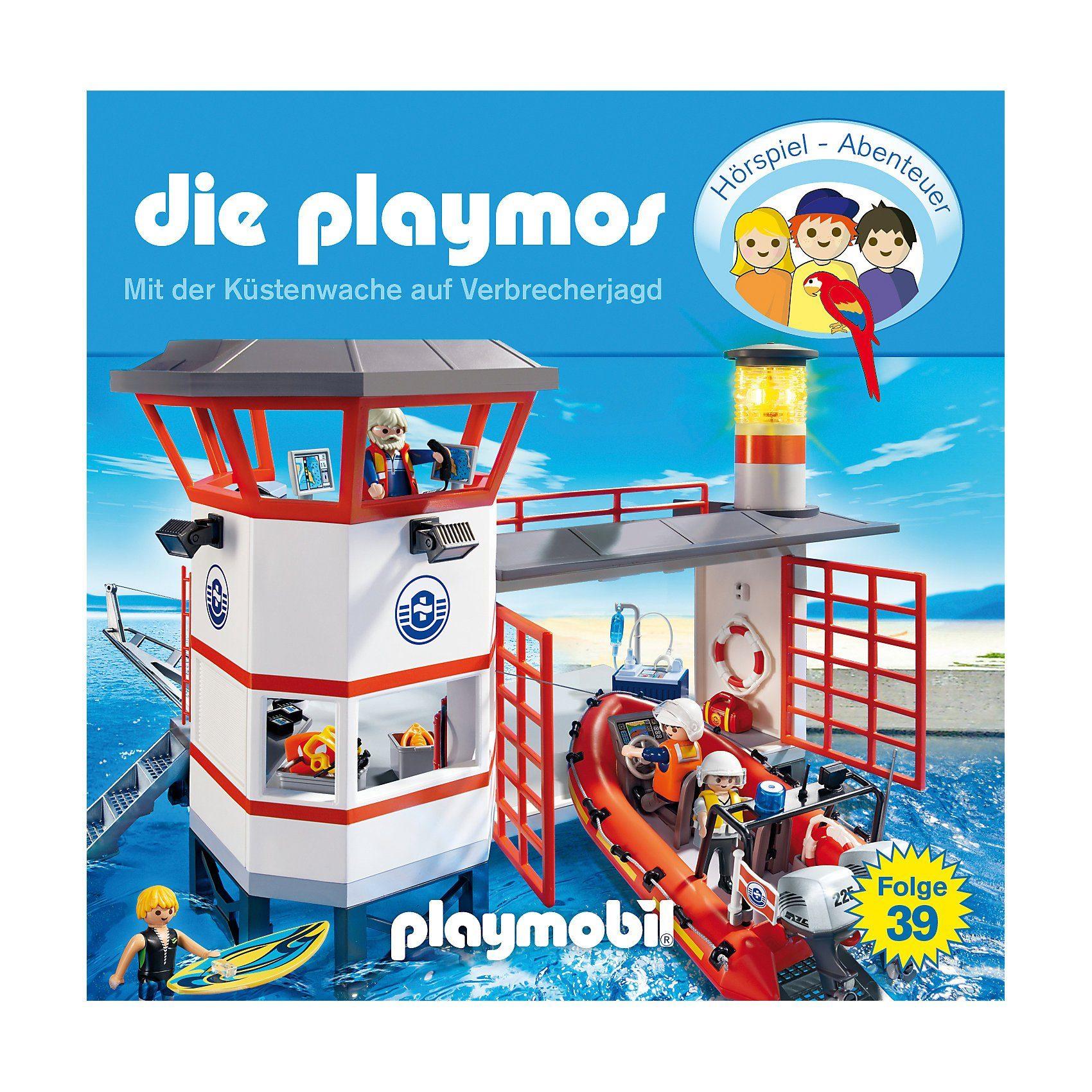 Die Playmos: Einsatz für die Küstenwache, 1 Audio-CD