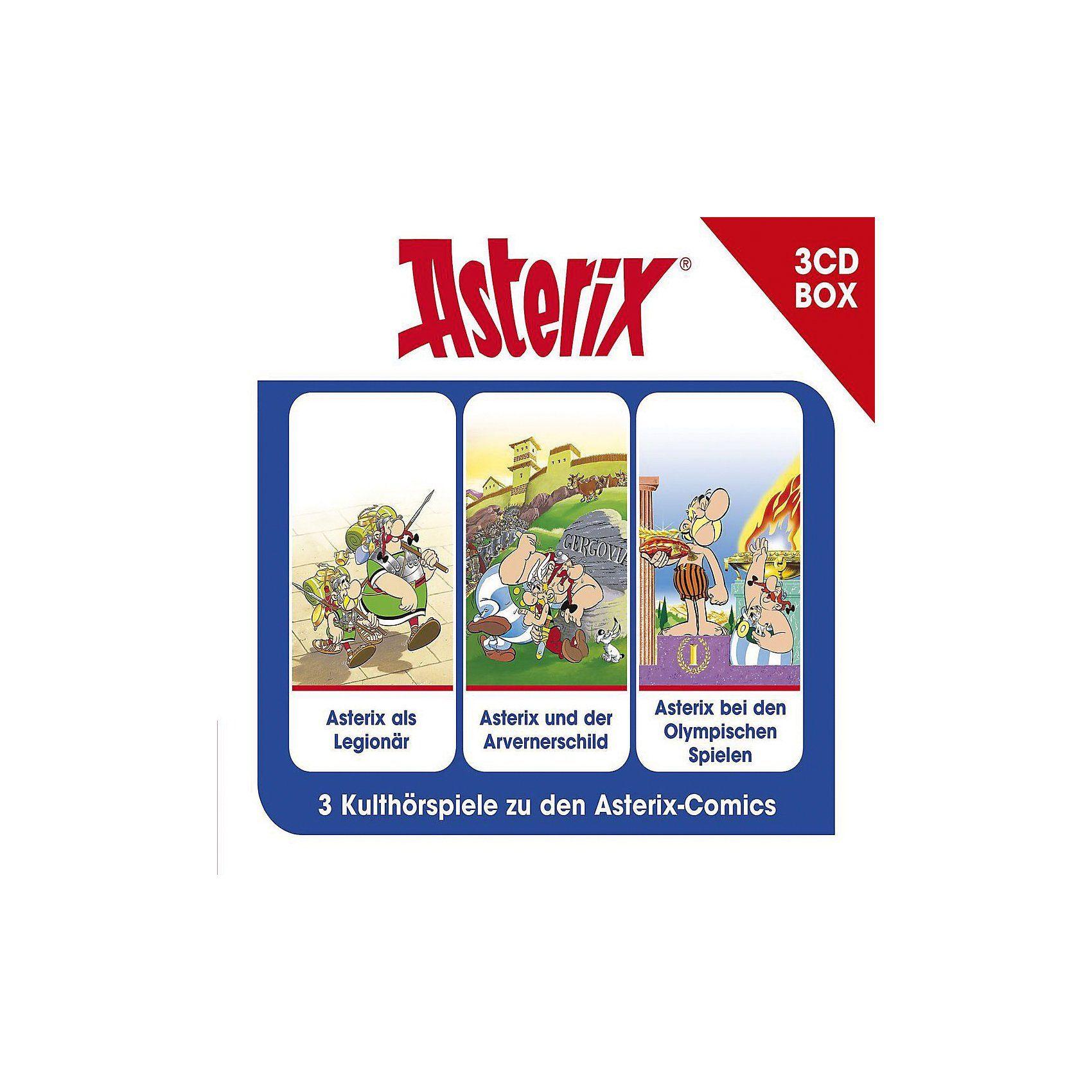 Universal CD Asterix-Asterix-3-CD Hörspielbox Vol.4