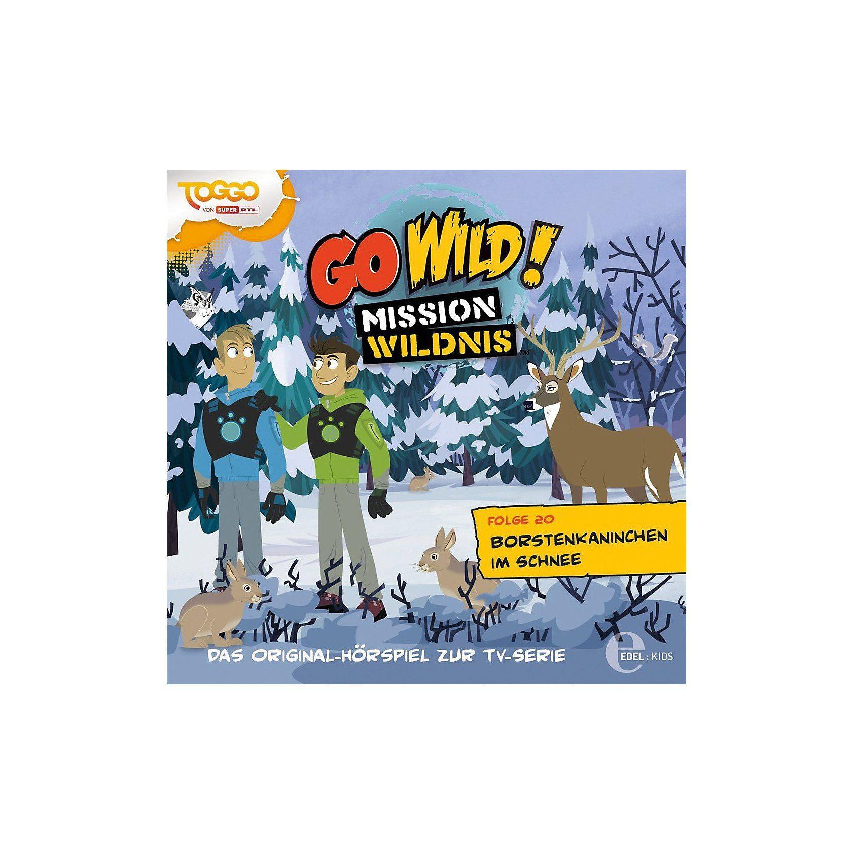 Edel CD Go Wild Mission Wildnis 20 - Borstenkaninchen im Schnee