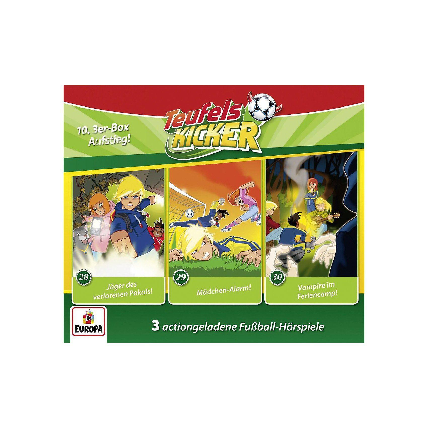 Sony CD Teufelskicker 10: 3-er CD-Box (Folgen 28-30)