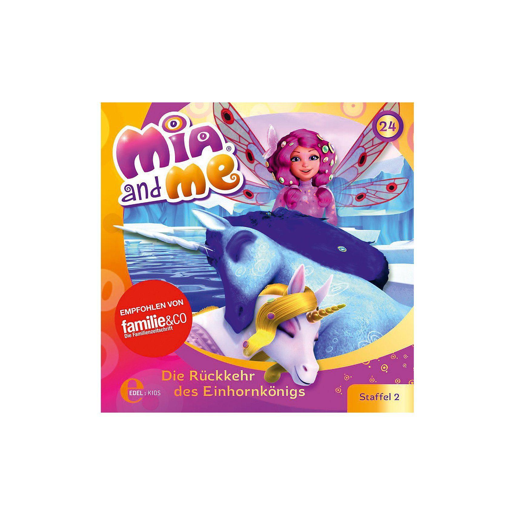 Edel CD Mia and Me 24 - Die Rückkehr des Einhornkönigs