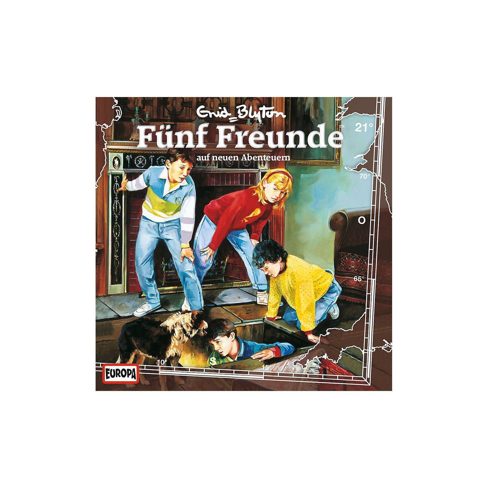 Sony CD Fünf Freunde 021/auf neuen Abenteuer
