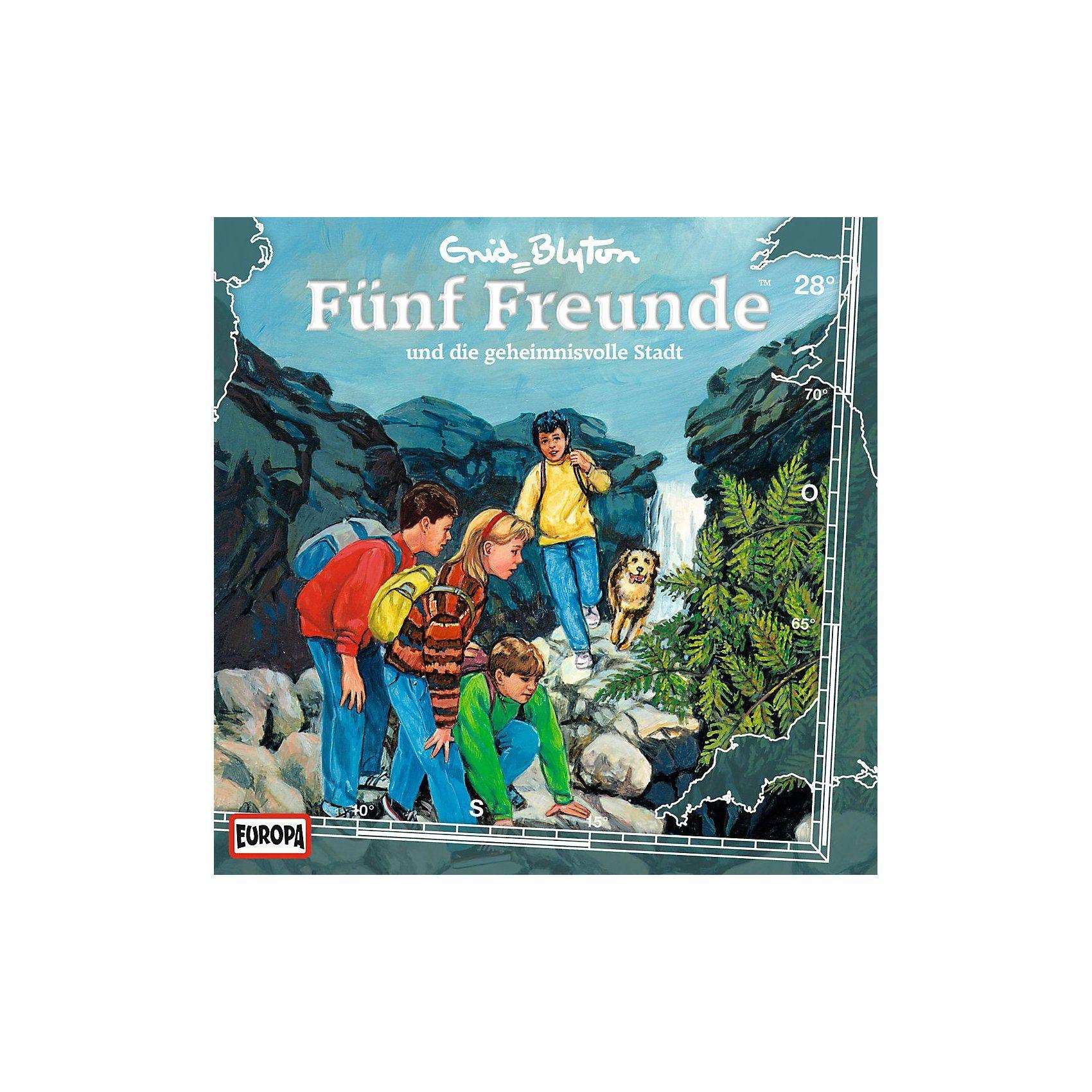 Sony CD Fünf Freunde 028/und die geheimnisvolle Sta