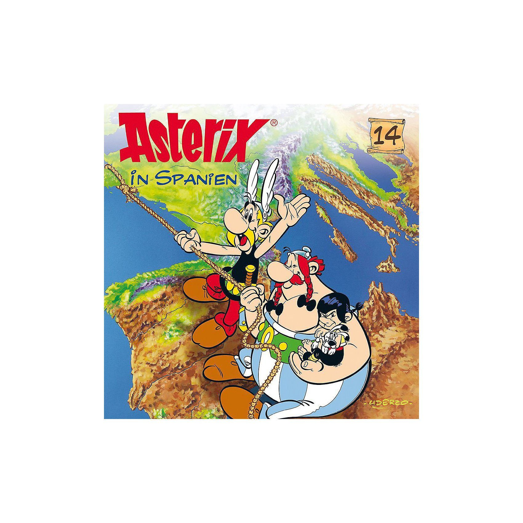 Universal CD Asterix 14 - Asterix in Spanien