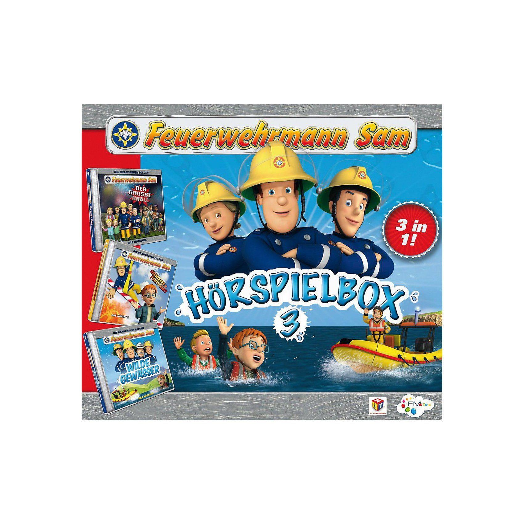 Just Bridge Entertainment CD Feuerwehrmann Sam - Hörspielbox 3