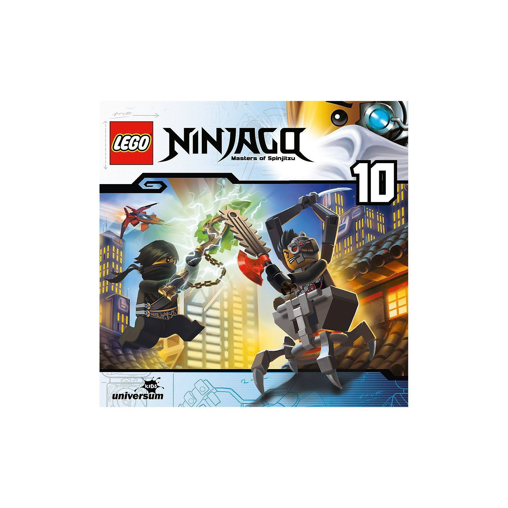 LEGO CD Ninjago - Masters of Spinjitzu 10