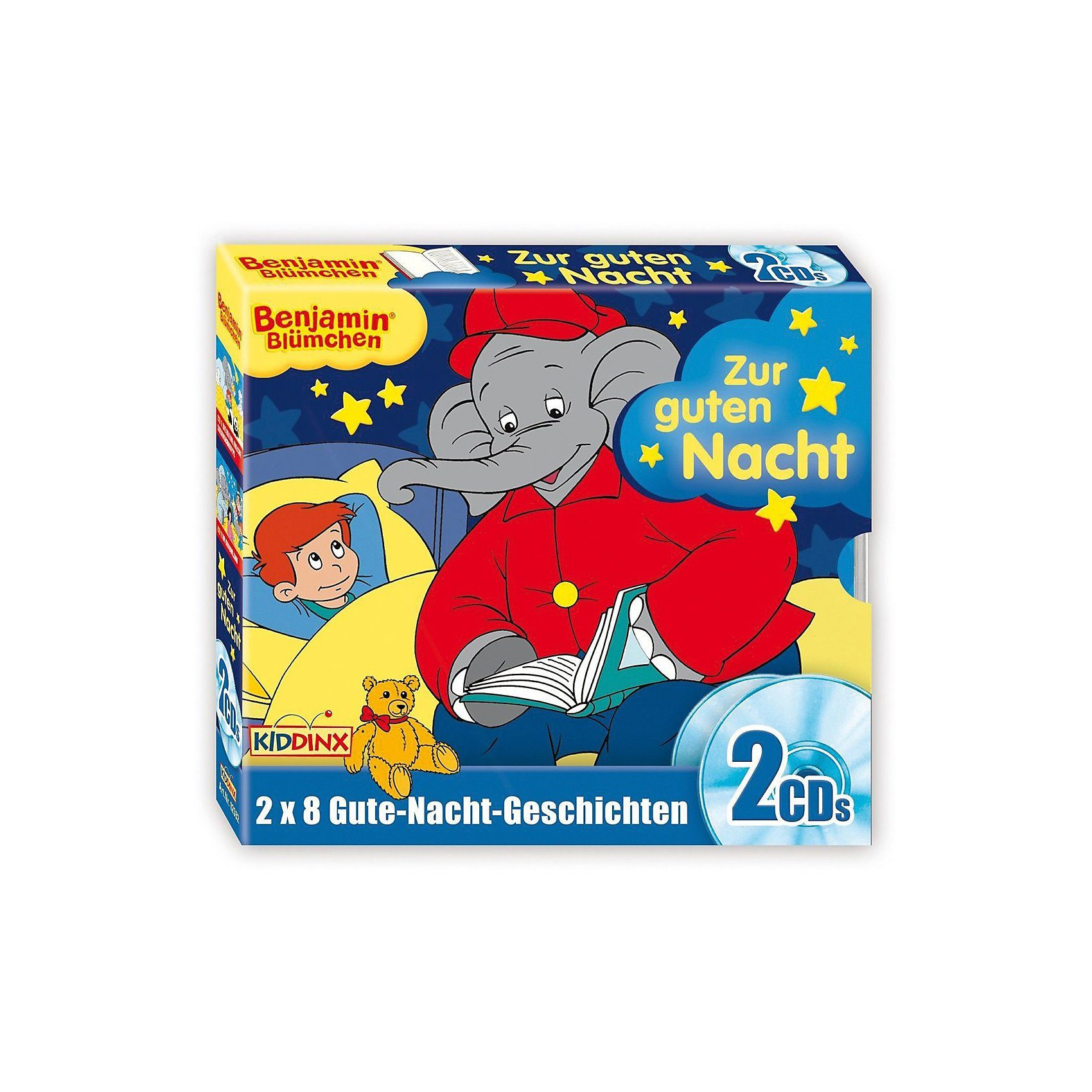 Kiddinx CD Benjamin Blümchen Gute Nacht Geschichten Box (Folge 8 + 1