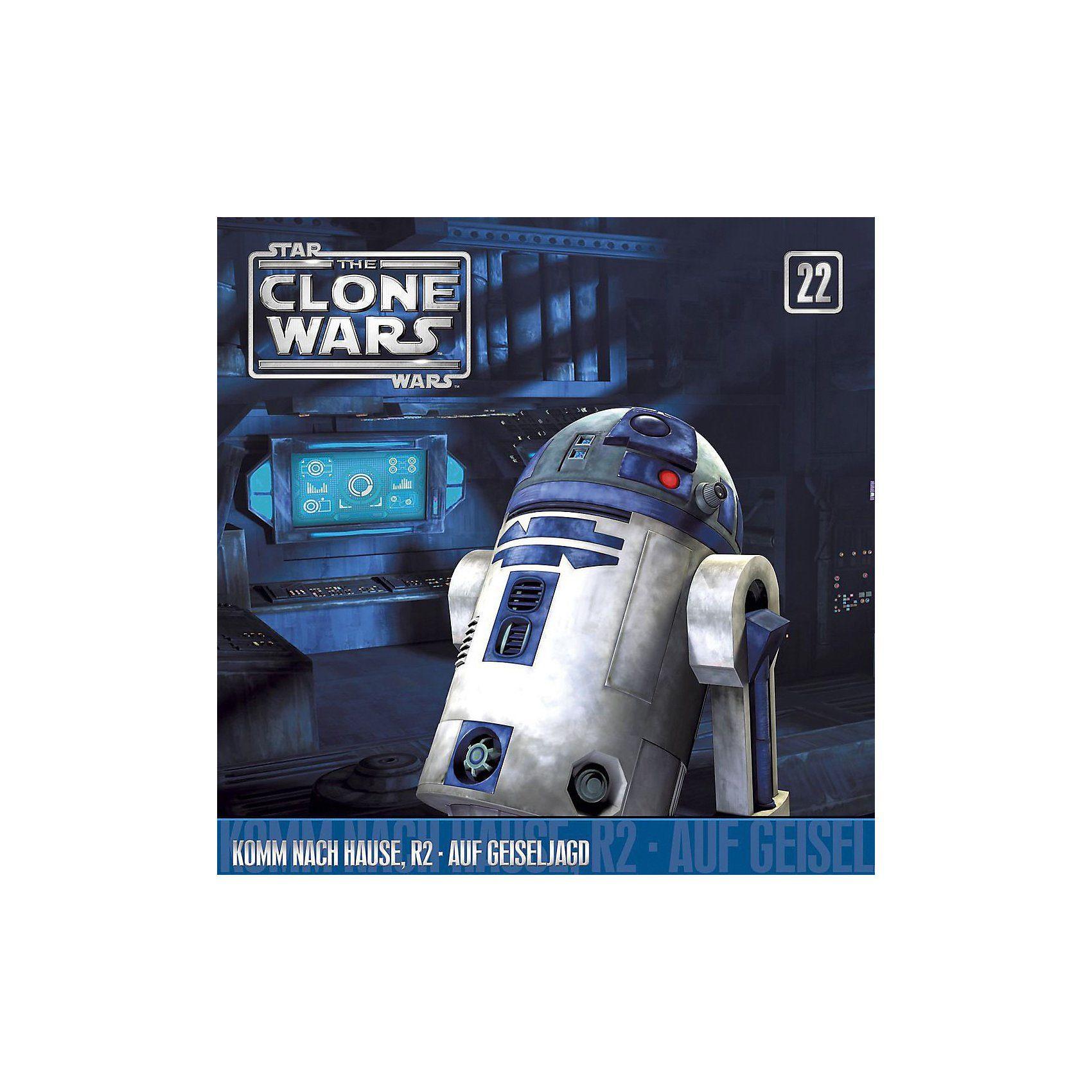 Universal CD The Clone Wars 22 - Komm nach Hause,R2/Auf Geiseljagd
