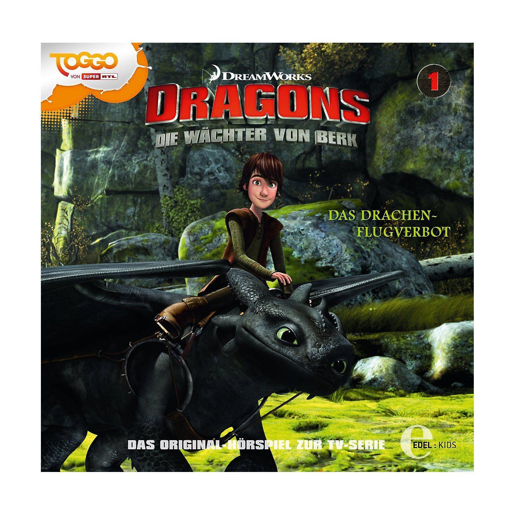 Edel CD Dragons - Die Wächter von Berk 01