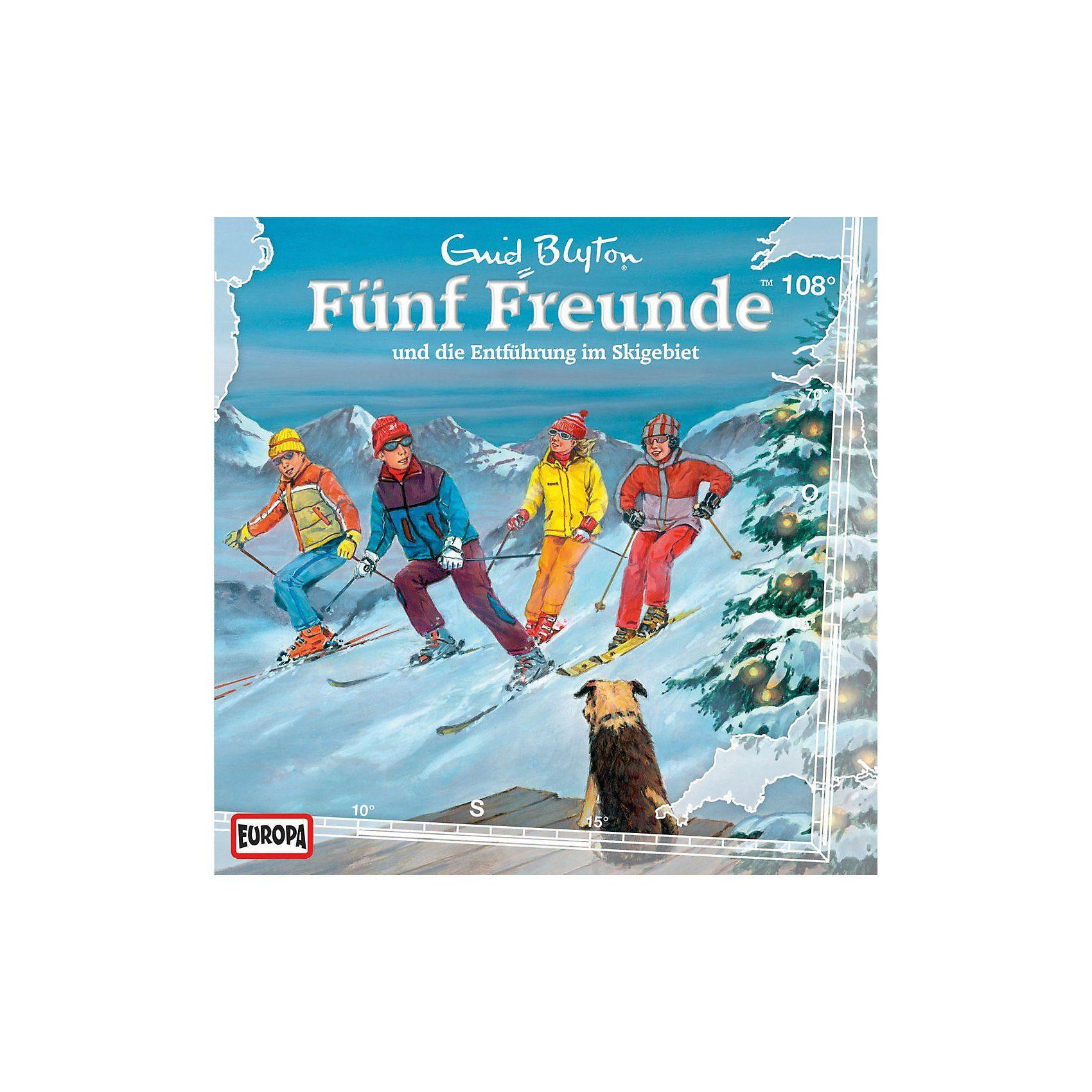 Sony CD Funf Freunde 108 - … und die Entführung im Skigebiet