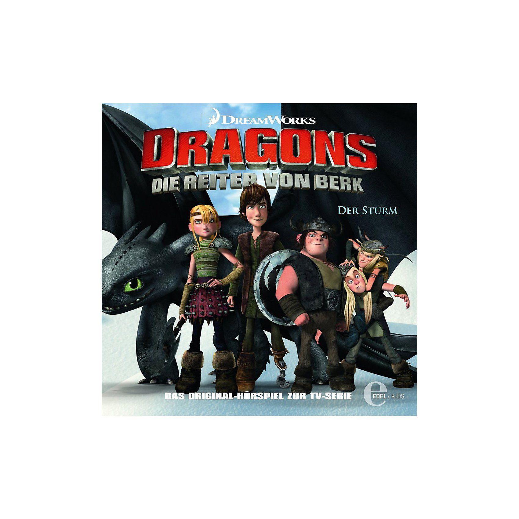 Edel CD Dragons - Die Reiter von Berk 02 - Der Sturm
