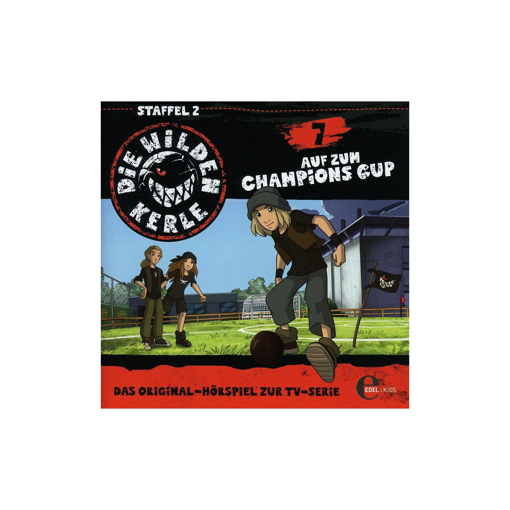 Edel CD Die wilden Kerle 07 - Auf zum Champions Cup