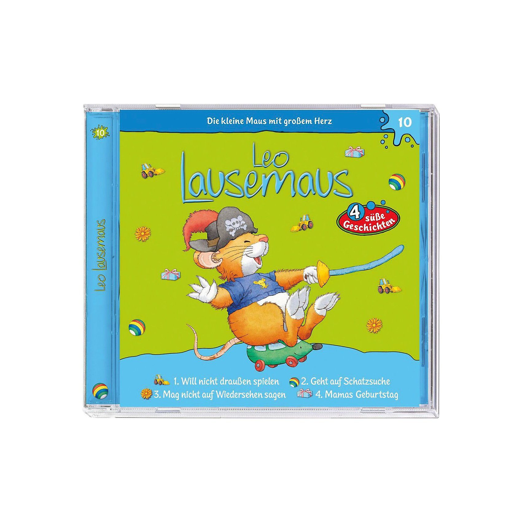 Kiddinx CD Leo Lausemaus 10