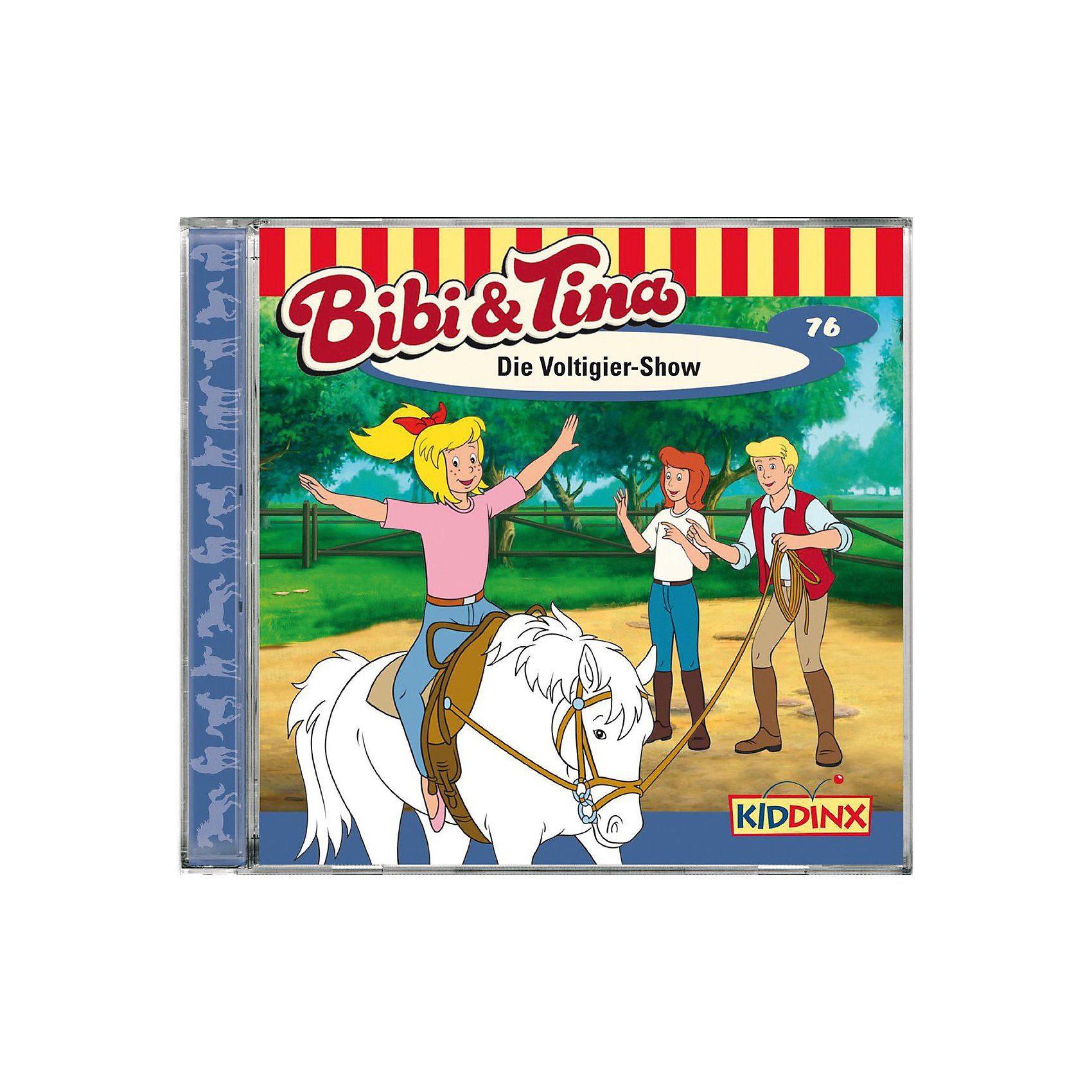 Kiddinx CD Bibi & Tina 76 - Die Voltigier Show
