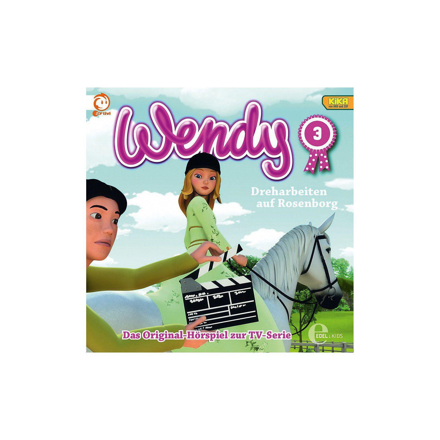 Edel CD Wendy 03 - Dreharbeiten auf Rosenborg
