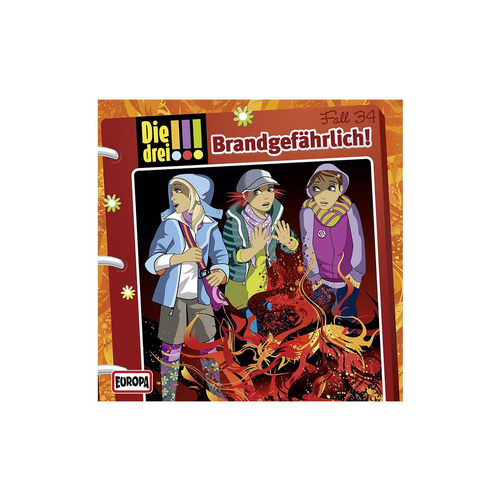 Sony CD Die Drei !!! 034 - Brandgefährlich