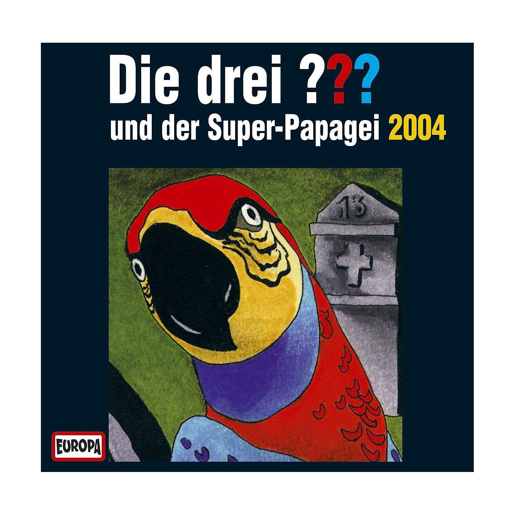 Sony CD Die Drei ??? Super-Papagei 2004
