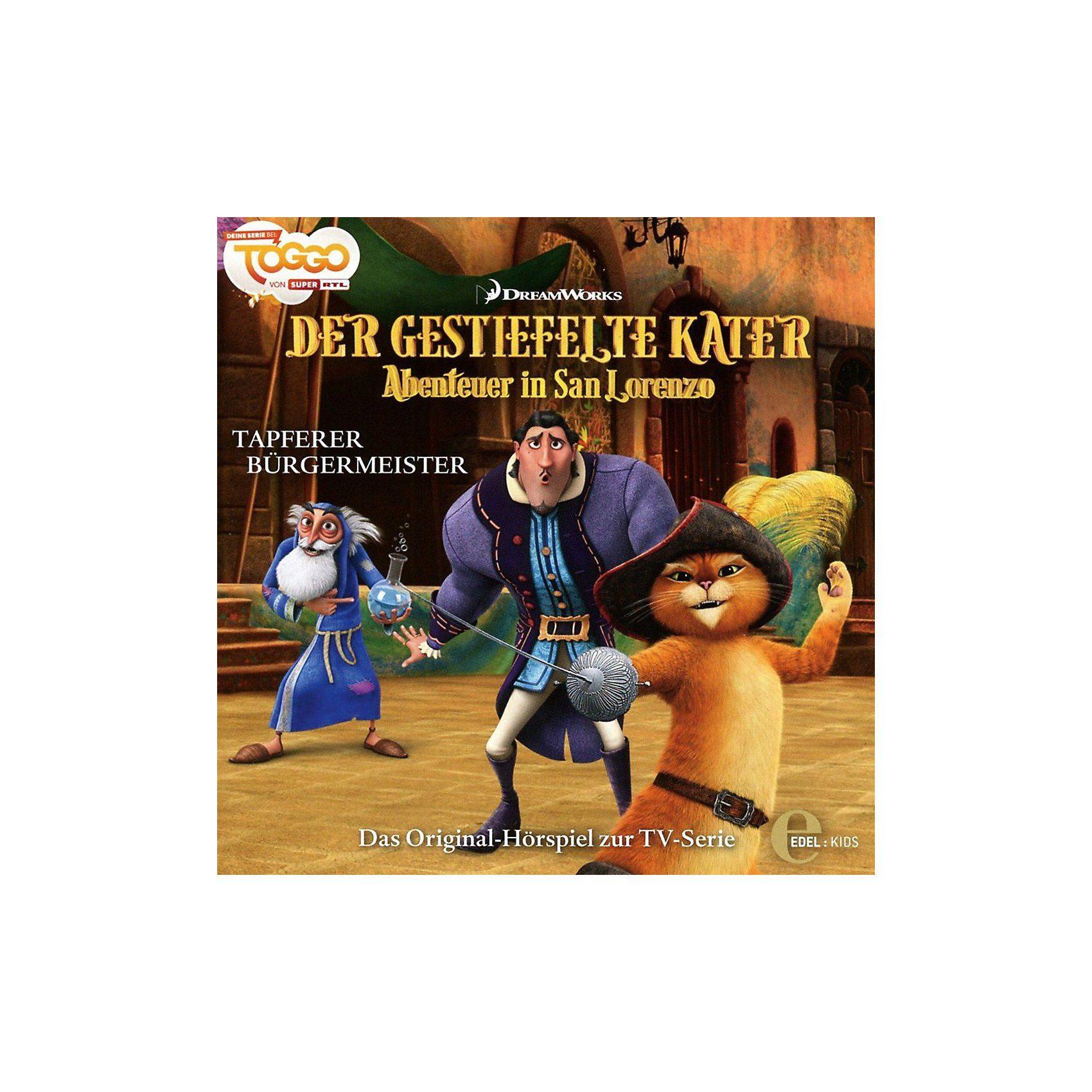 Edel CD Der Gestiefelte Kater 4 - Abenteuer In San Lorenzo