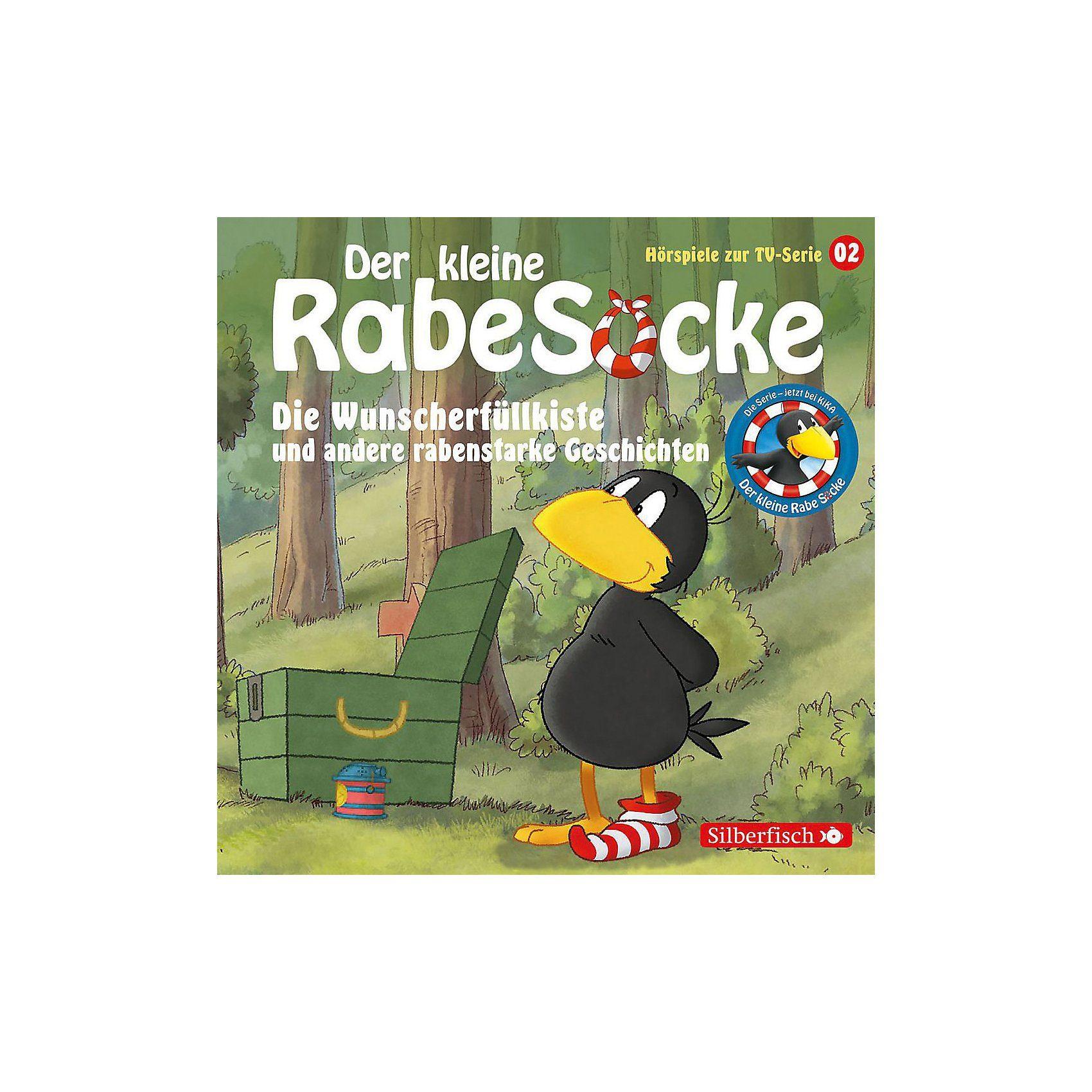Universal CD Der kleine Rabe Socke 02: Die Wunscherfüllkiste (Hörspiel