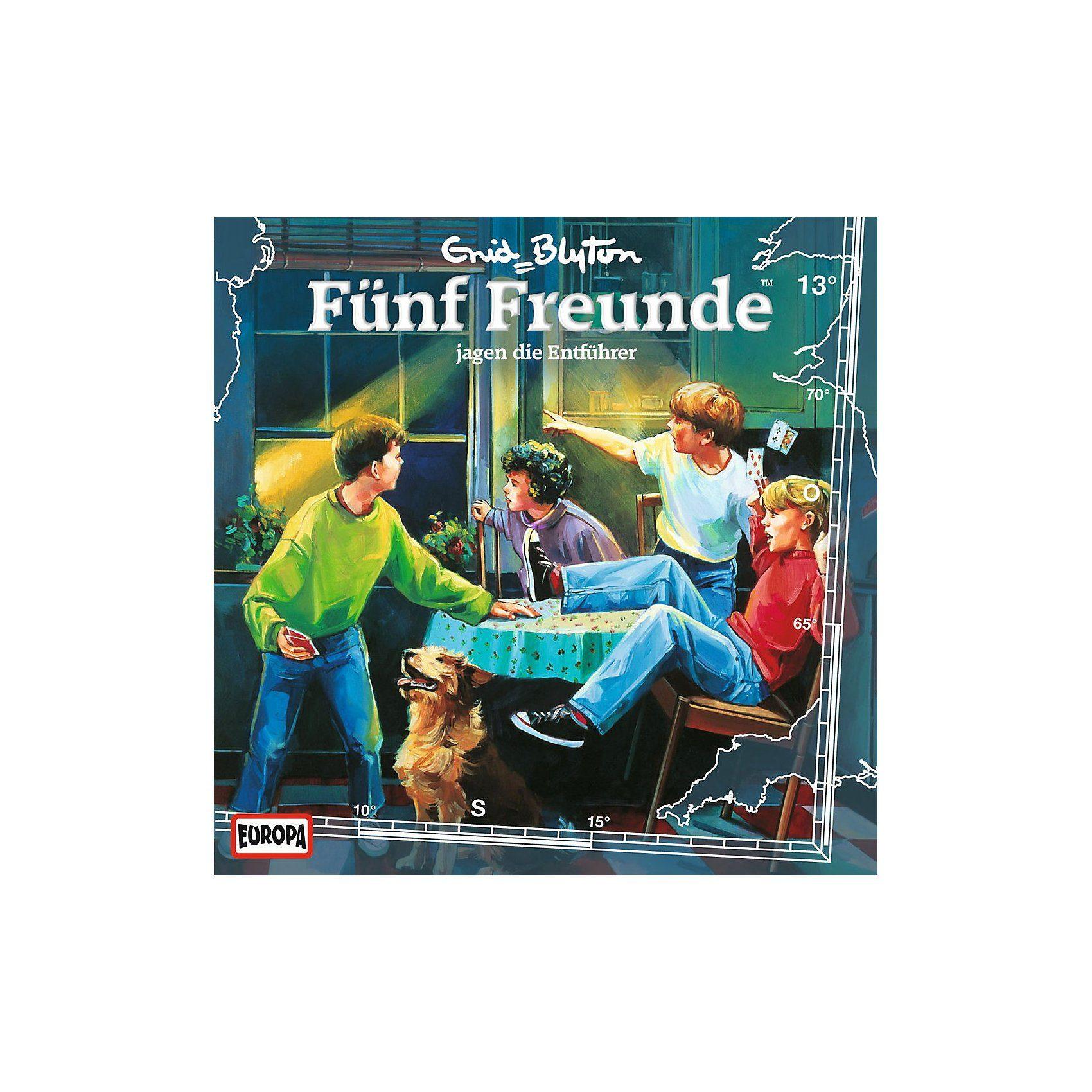 Sony CD Fünf Freunde 013/jagen die Entführer