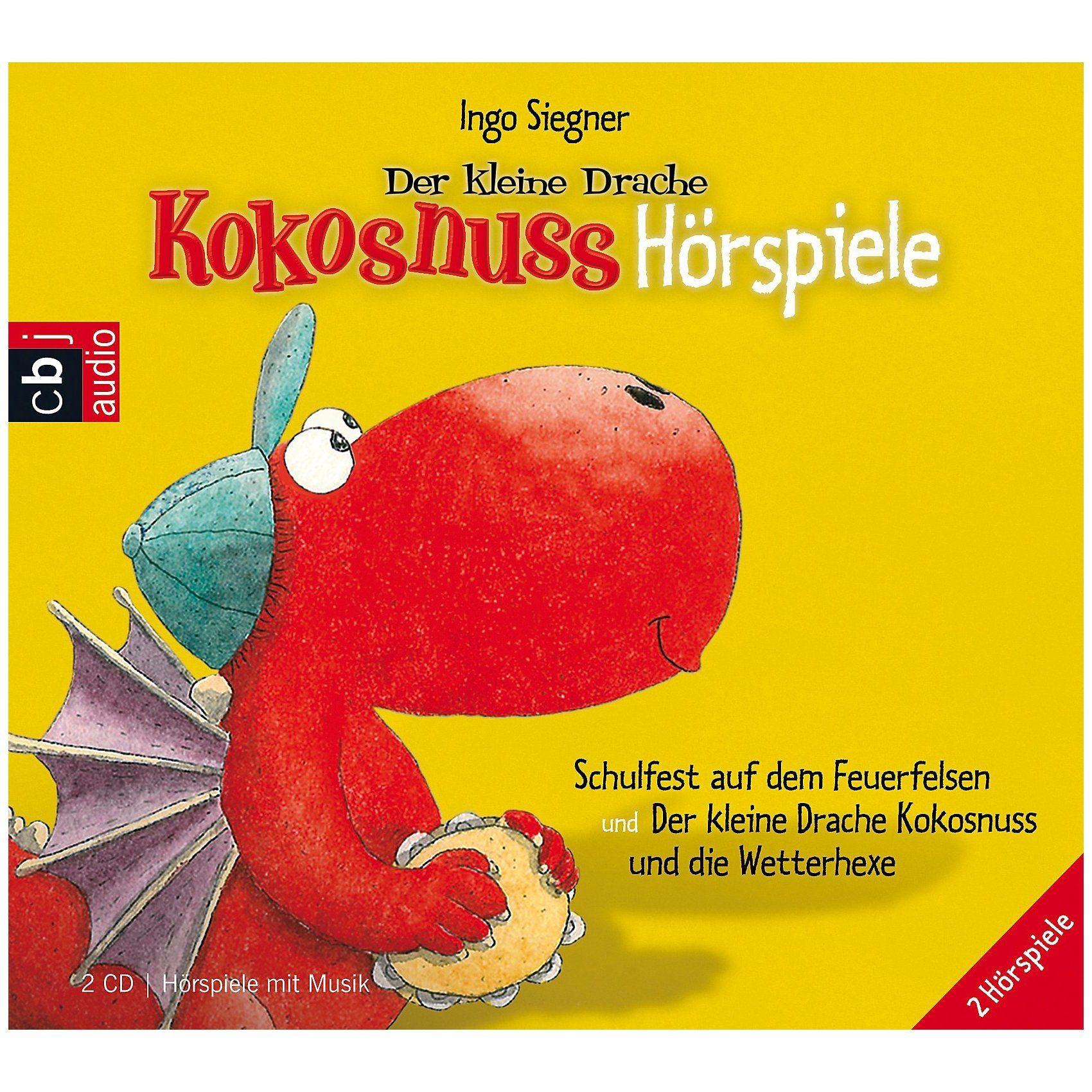 Edel Der kleine Drache Kokosnuss Hörspiele, 2 Audio-CDs