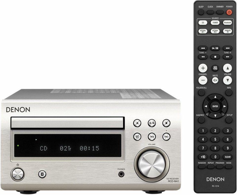 Denon »RCD-M41DAB« CD-Player (Bluetooth, FM-Tuner mit RDS) online on