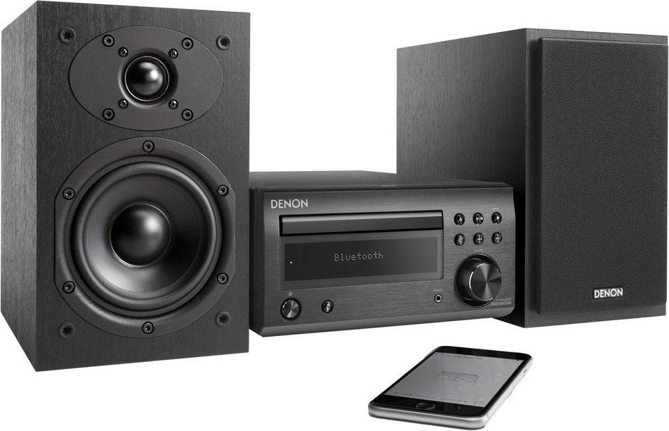 denon d m41 microanlage bluetooth digitalradio dab. Black Bedroom Furniture Sets. Home Design Ideas