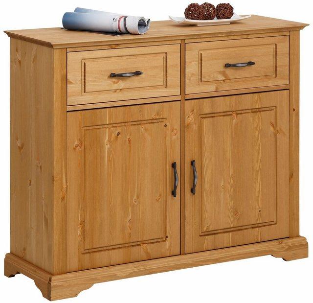 Sideboards und Kommoden - Home affaire Sideboard »Danuta«, aus massiver Kiefer, Breite 109 cm  - Onlineshop OTTO