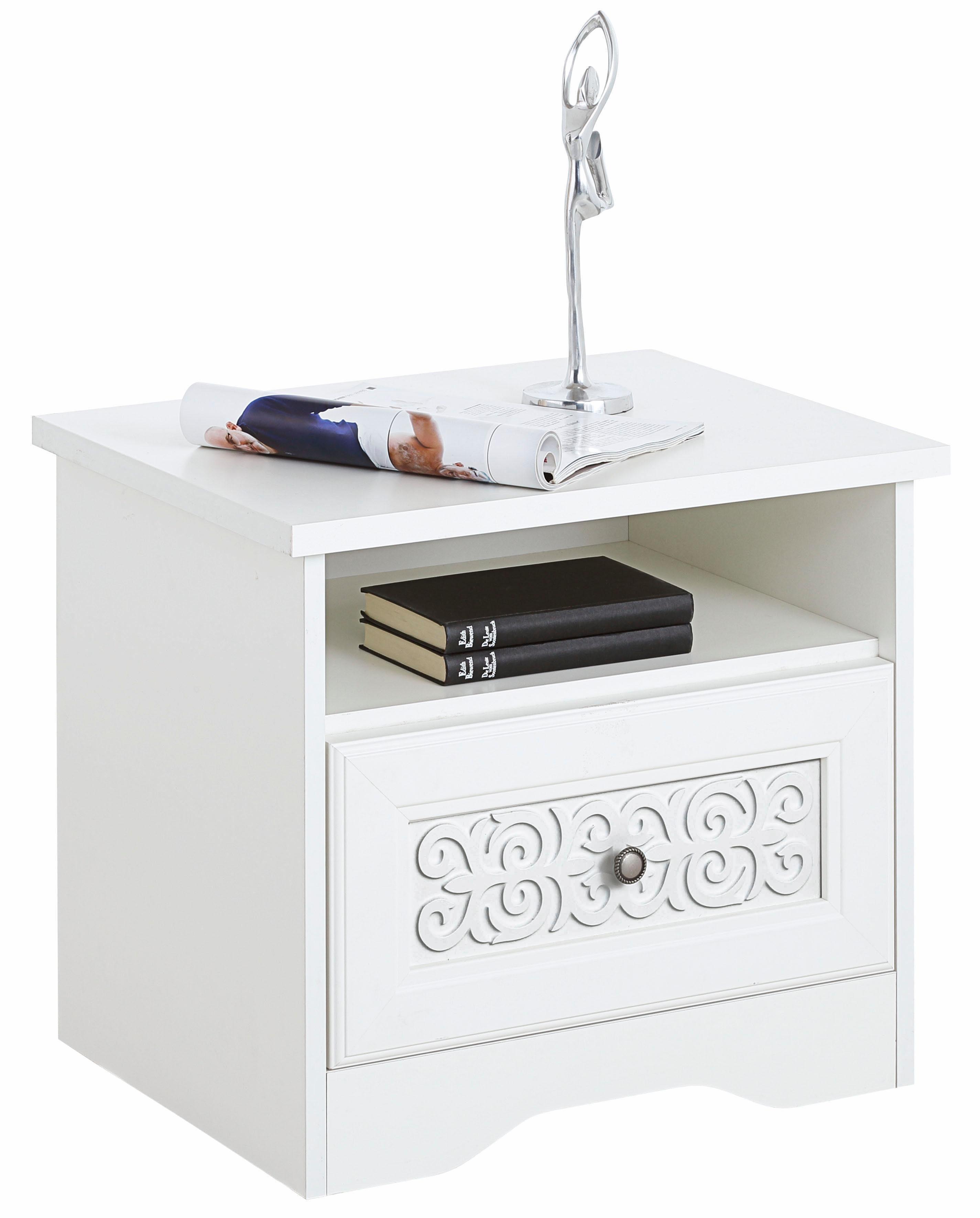 Home affaire Nachttisch «Lucy», mit 1 Schublade, Breite 54 cm