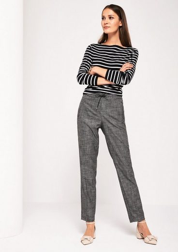 Comma Noble Lounge Pants In Salt & Pepper-optics
