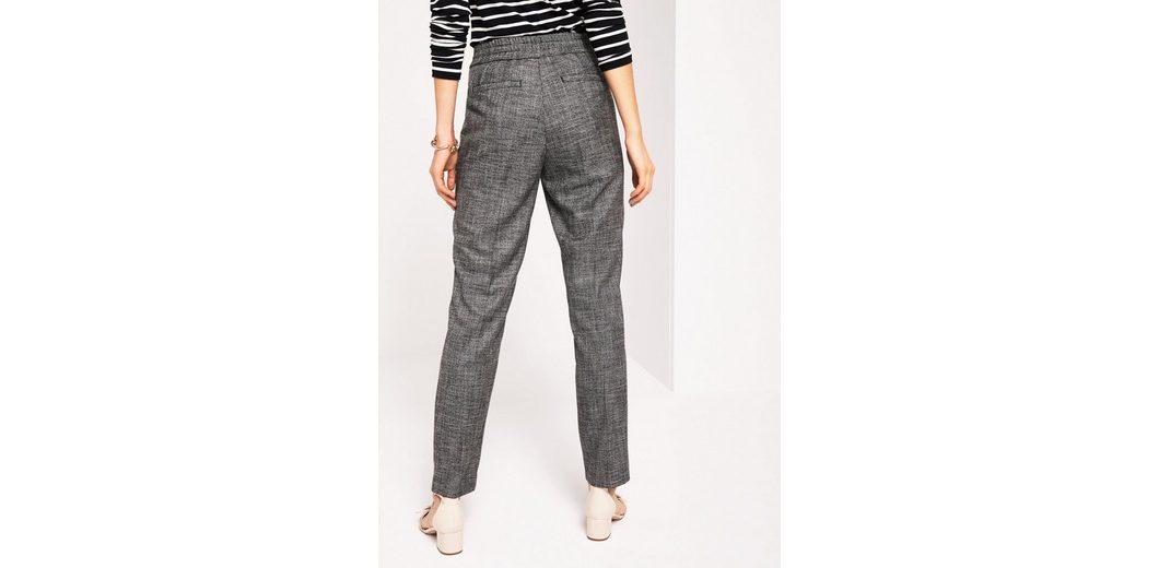COMMA Edle Loungepants in Salz & Pfeffer-Optik Sneakernews Billigste Online Preise Online-Verkauf Discounter XjccLwEHP