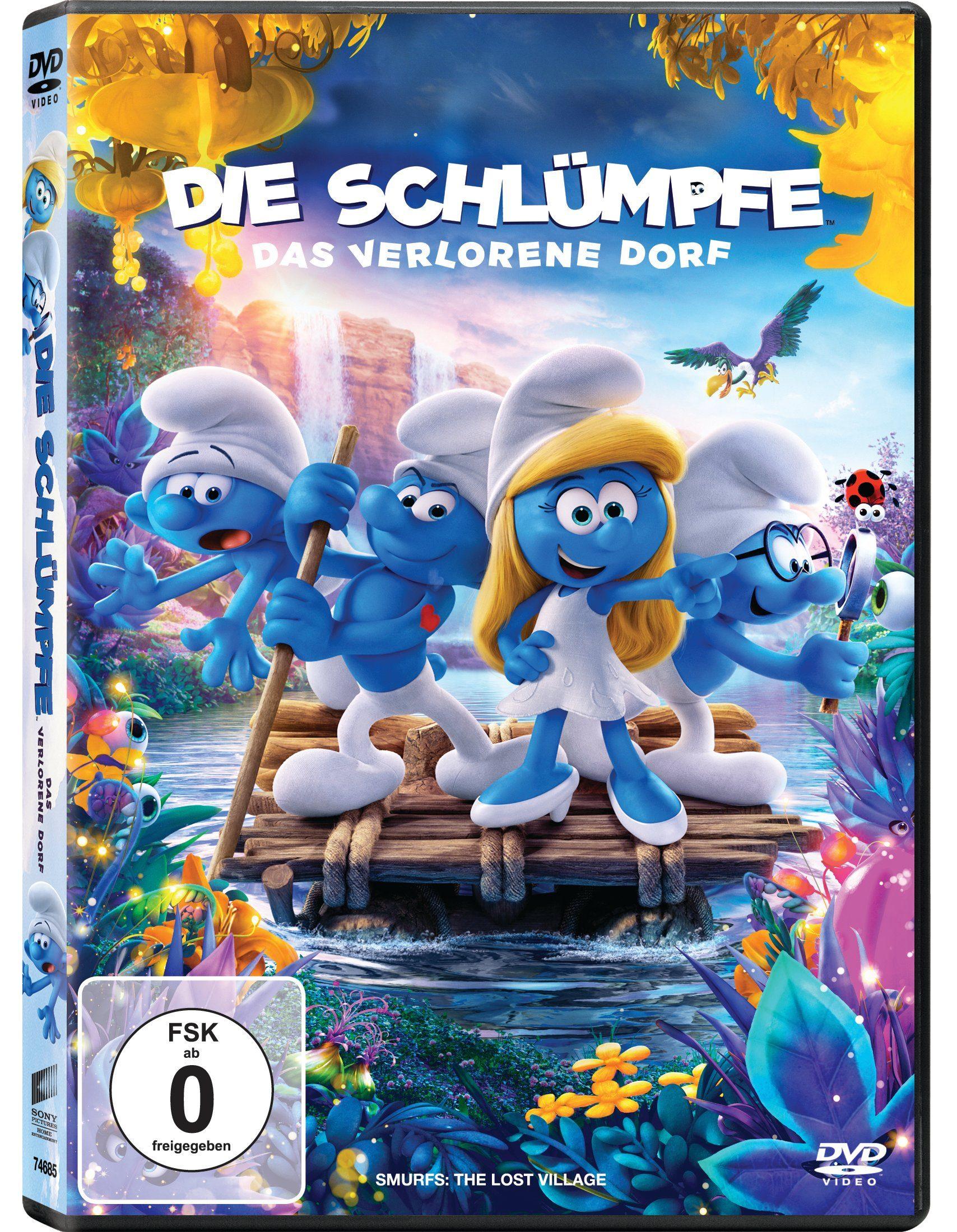 Sony Pictures DVD »Die Schlümpfe - Das verlorene Dorf«