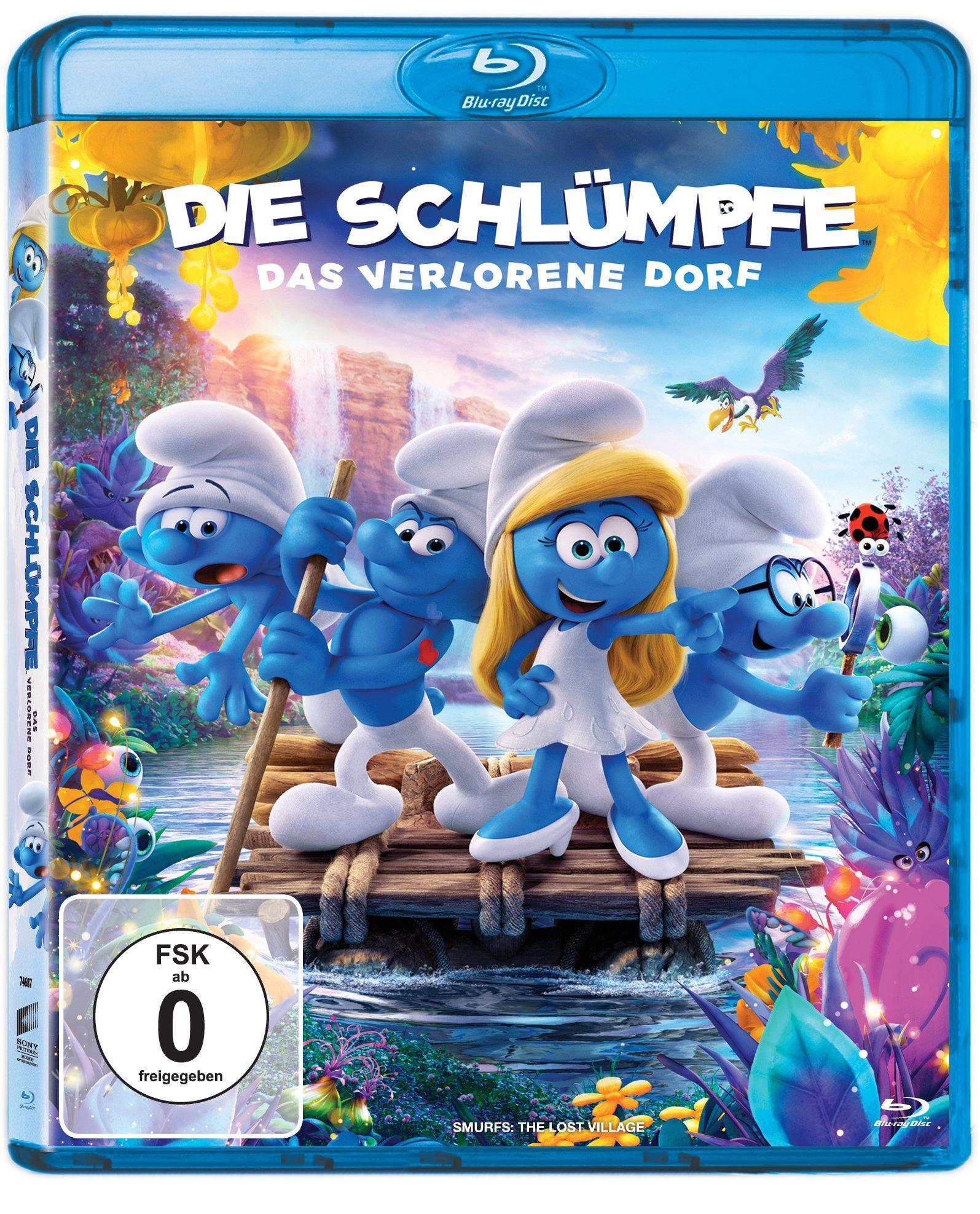 Sony Pictures Blu-ray »Die Schlümpfe - Das verlorene Dorf«