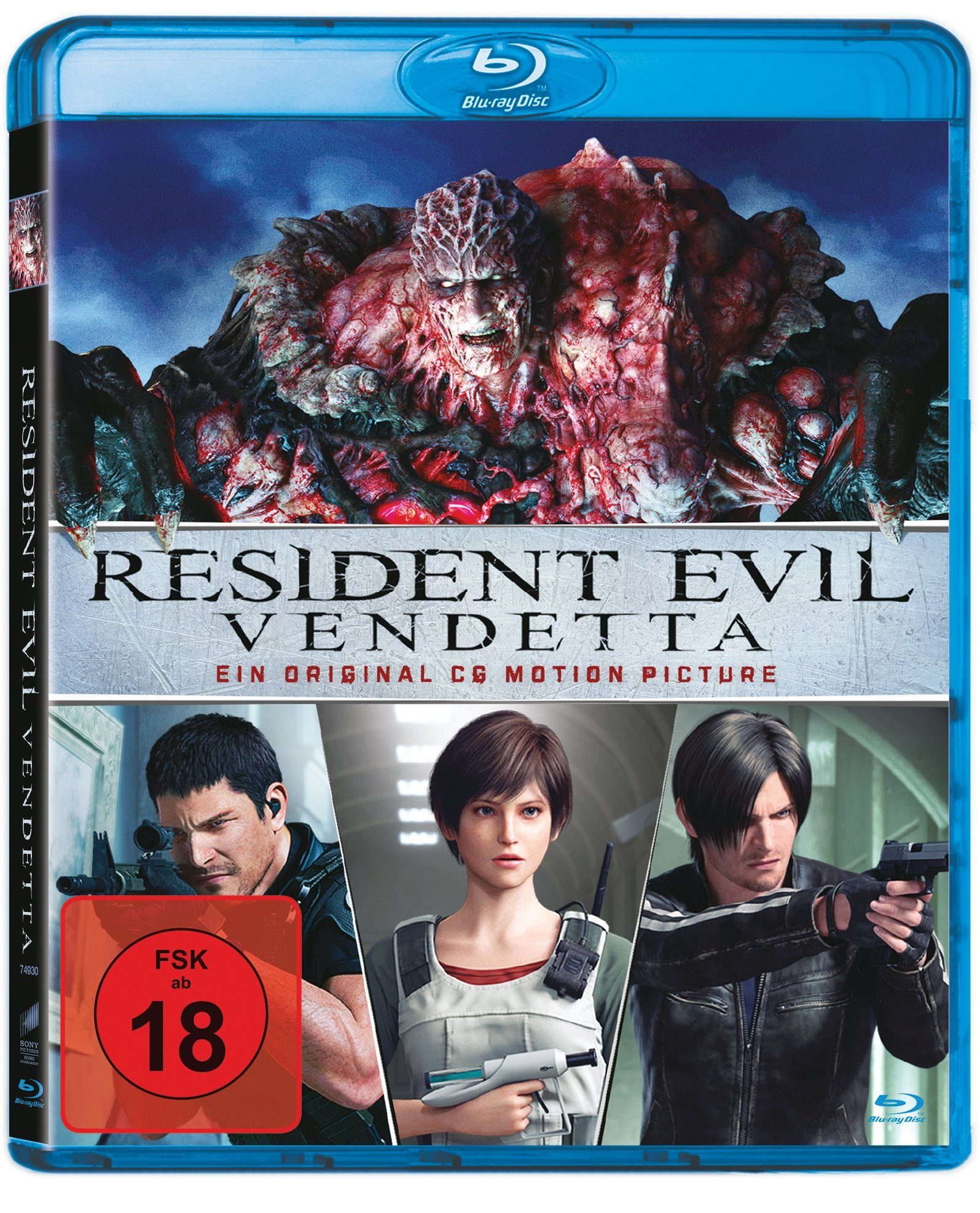 Sony Pictures Blu-ray »Resident Evil: Vendetta«