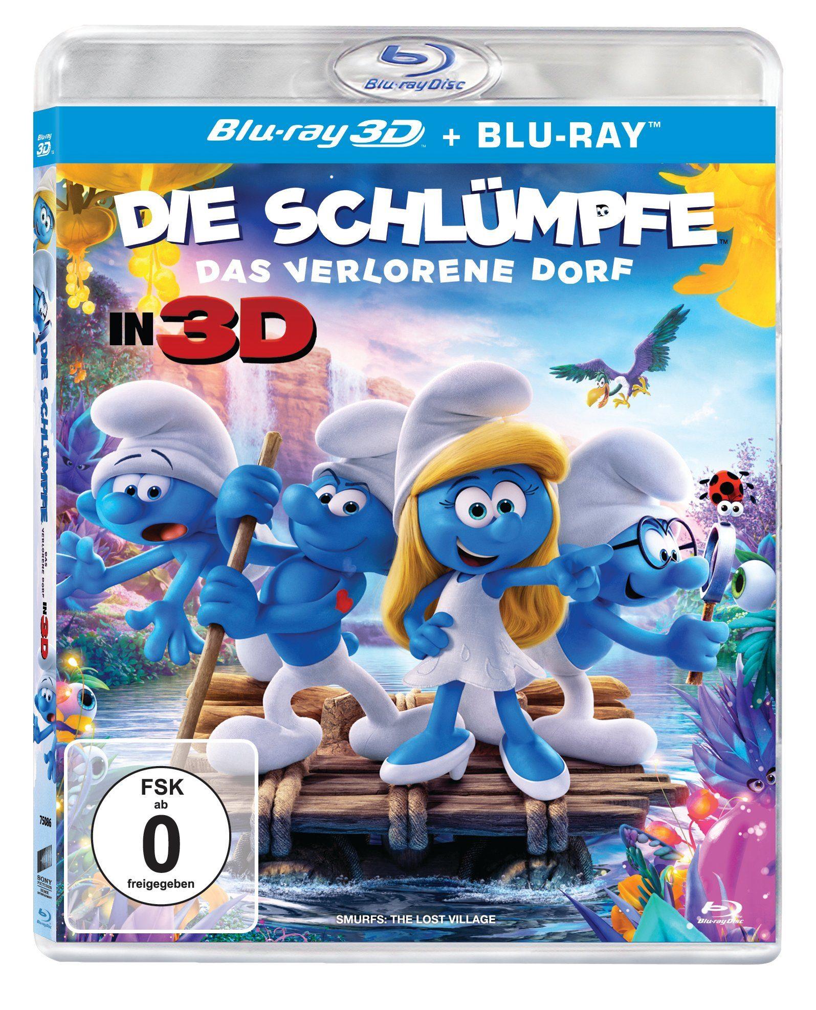 Sony Pictures Blu-ray »Die Schlümpfe - Das verlorene Dorf 3D«