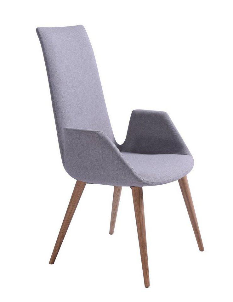 Kasper wohndesign esszimmerstuhl stoff hellgrau vulca for Wohndesign versand