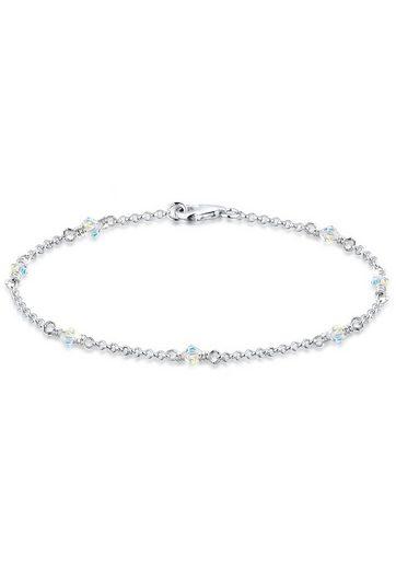 Elli Armband »Klassiker Elegant Swarovski® Kristalle 925 Silber«